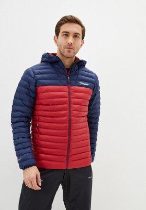 Куртка утепленная Berghaus VASKYE SYN IN JKT. Цвет: красный