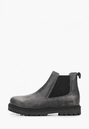 Ботинки Birkenstock. Цвет: серый