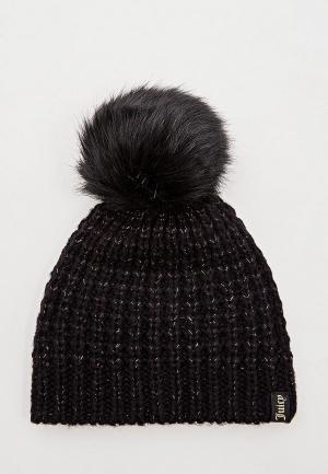 Шапка Juicy Couture. Цвет: черный