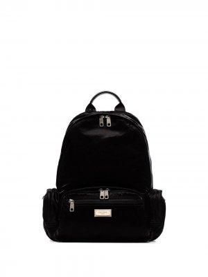 DG NYLON SAMBOIL BACKPACK Dolce & Gabbana. Цвет: черный