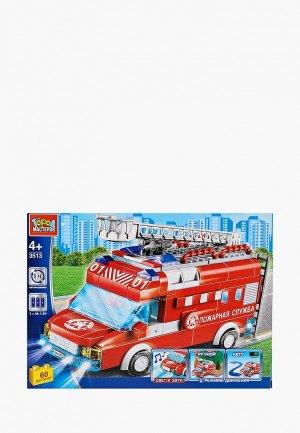 Конструктор Город Мастеров Пожарная машина. Цвет: разноцветный