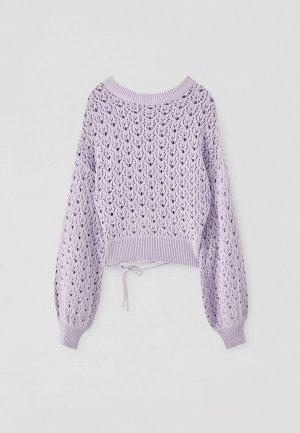 Джемпер Pull&Bear. Цвет: фиолетовый
