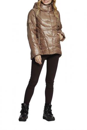 Куртка D`imma. Цвет: темно-бежевый