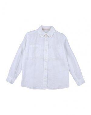 Pубашка BRUMS. Цвет: белый