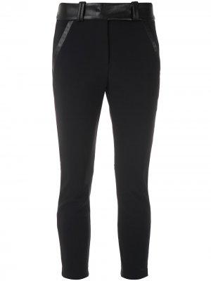 Укороченные брюки с карманами по бокам Gloria Coelho. Цвет: черный