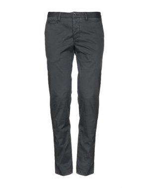 Укороченные брюки HARRY & SONS. Цвет: свинцово-серый