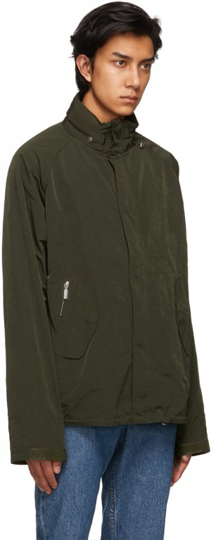 Green Transporter Casual Jacket Barbour. Цвет: forest