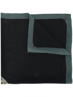 Платок с принтом Cartier. Цвет: черный