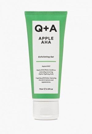 Пилинг для лица Q+A APPLE AHA, 75 мл. Цвет: прозрачный