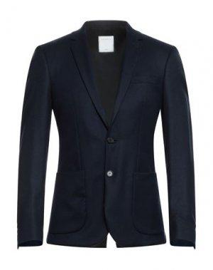 Пиджак SANDRO. Цвет: темно-синий