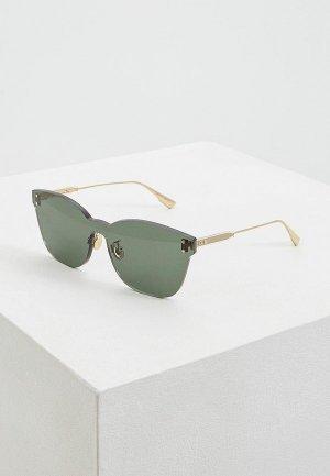 Очки солнцезащитные Christian Dior DIORCOLORQUAKE2 1ED. Цвет: золотой