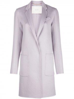 Пальто Zibelline Adam Lippes. Цвет: фиолетовый