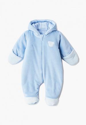 Комбинезон утепленный Fim Baby. Цвет: голубой