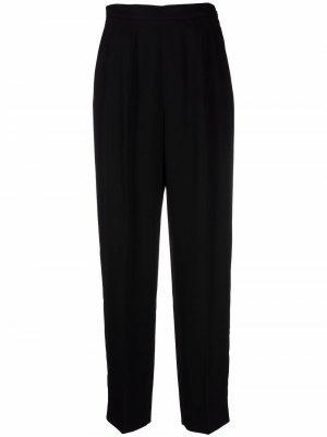 Straight cotton trousers Jil Sander. Цвет: черный