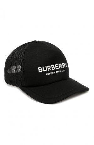 Бейсболка Burberry. Цвет: черный