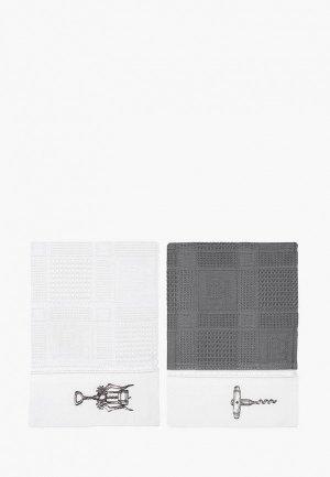 Набор полотенец кухонных Bellehome Wine opener, 40х70 см