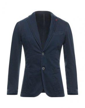 Пиджак OUTFIT. Цвет: синий