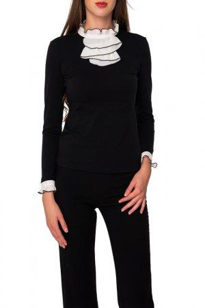 Блуза Arefeva. Цвет: черный, светло-желтый