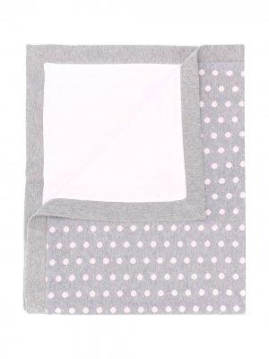 Одеяло в горох Aletta. Цвет: серый