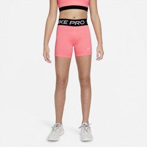 Шорты для девочек школьного возраста Pro - Розовый Nike