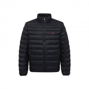 Утепленная куртка Polo Ralph Lauren. Цвет: чёрный