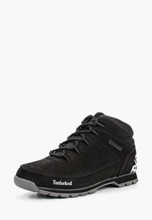 Ботинки трекинговые Timberland EURO SPRINT HIKER JET BLACK. Цвет: черный