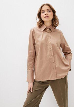 Рубашка InWear. Цвет: бежевый