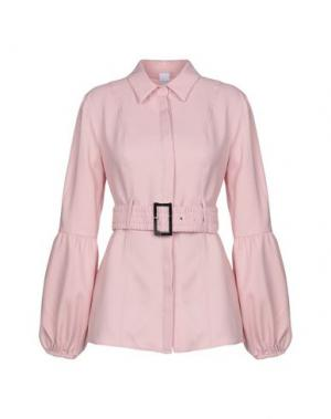Pубашка LOST INK. Цвет: розовый