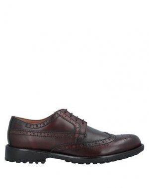 Обувь на шнурках CLARKS. Цвет: какао