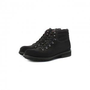 Замшевые ботинки Doucals Doucal's. Цвет: серый