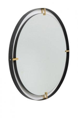 Зеркало Betsy Kare. Цвет: черный
