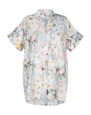 Pубашка AND. Цвет: небесно-голубой