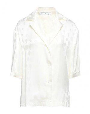 Pубашка OFF-WHITE™. Цвет: слоновая кость