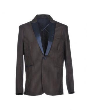 Пиджак NEILL KATTER. Цвет: темно-коричневый