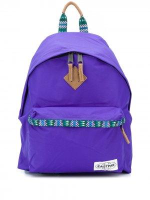 Рюкзак на молнии Eastpak. Цвет: фиолетовый