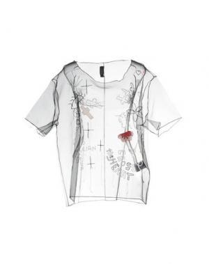 Блузка JULIAN KEEN. Цвет: черный