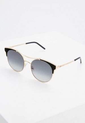 Очки солнцезащитные Jimmy Choo LUE/S RHL. Цвет: золотой