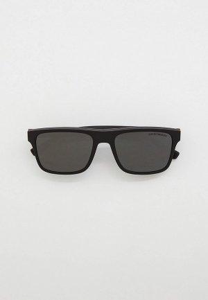 Комплект Emporio Armani EA4115 58011W, оправа и солнцезащитные линзы 2 шт.. Цвет: черный