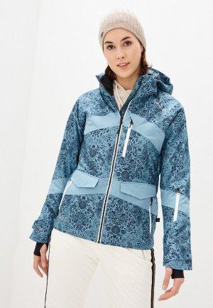 Куртка горнолыжная Brunotti. Цвет: бирюзовый