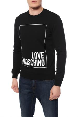 Толстовка Love Moschino. Цвет: c74