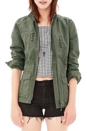 Jacket s.Oliver. Цвет: green