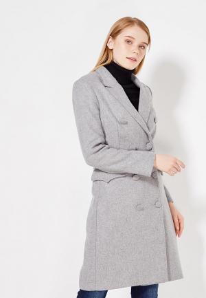 Пальто Soeasy de Bity Grey. Цвет: серый