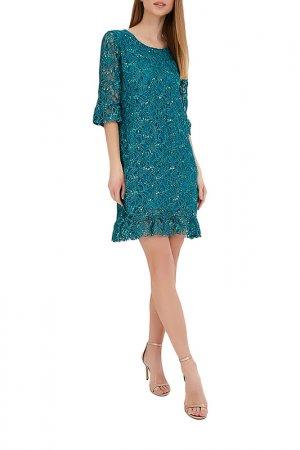 Платье Almatrichi. Цвет: зеленый
