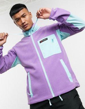 Фиолетовая флисовая куртка на молнии -Фиолетовый Berghaus