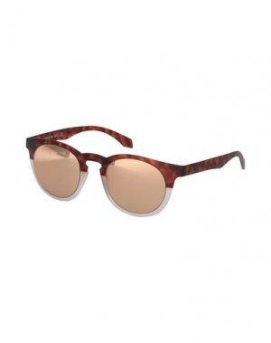 Солнечные очки ALSTECA. Цвет: какао
