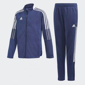 Спортивный костюм Tiro Performance adidas. Цвет: синий