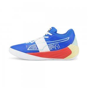 Кроссовки Fusion Nitro Basketball Shoes PUMA. Цвет: синий