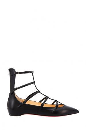 Черные туфли Toerless Muse Christian Louboutin. Цвет: черный