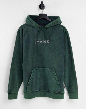 Худи зеленого цвета Easy Wash-Зеленый цвет Vans