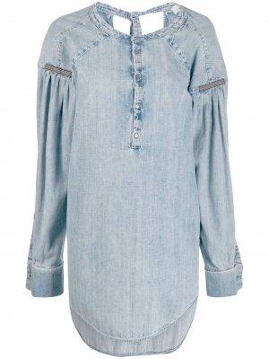 Джинсовый топ Cezanne A.F.Vandevorst. Цвет: синий